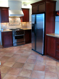 image of kitchen floor tile